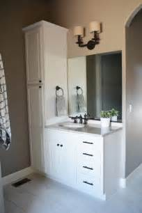 interior fetching bathroom design with bathroom vanities