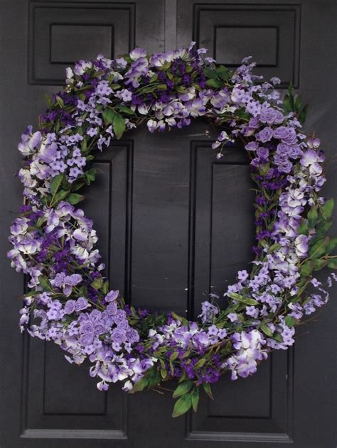spring wreaths to make easy to make spring wreath front door pinterest