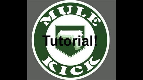 black ops  mule kick emblem tutorial youtube