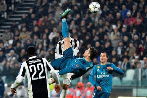 ronaldo juventus kick cristiano ronaldo thanks juventus fans for applauding his bicycle kick goal