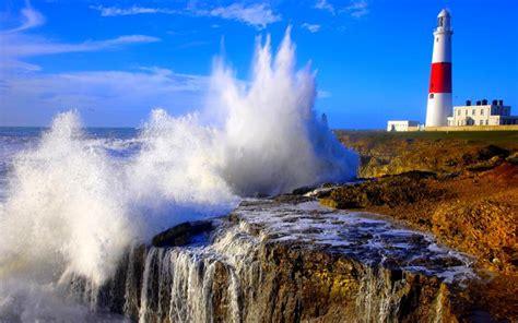 hd crashing wave wallpaper