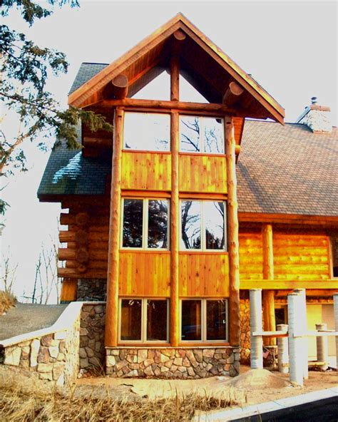 Handcraft Homes - photo gallery timber wolf handcrafted log homes inc