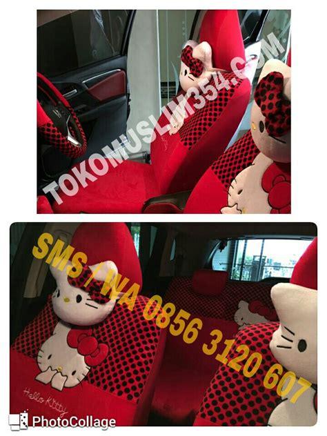 Sarung Jok Mobil Hellokitty sarung jok mobil 18 in 1 freed hello jual grosir