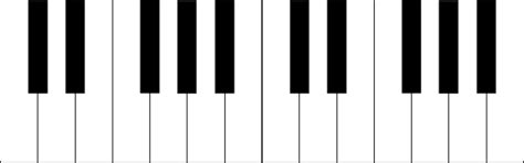 piano keyboard diagram piano keyboard clipart black and white clipart panda