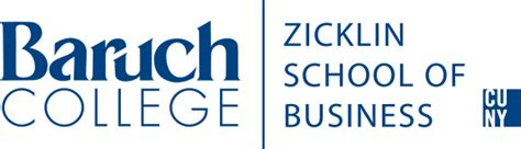 Baruch College Letterhead Baruch College Communications And Marketing Materials Zicklin Logos