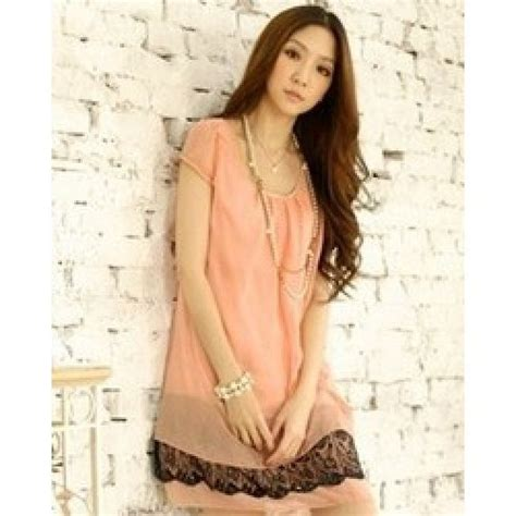 Murah Donela Mini Dress baju mini dress korea murah kp 9445 e pink grosir baju korea murah fashion drawing