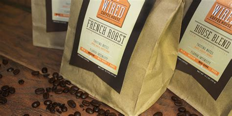 Student Spotlight Wired Coffee House The Dieline Packaging Branding Design