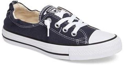 Converse Chuck Tinggi Biru Navy converse chuck shoreline sneaker in blue lyst
