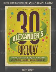 free birthday flyer templates top 10 best birthday psd flyer templates