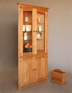 simply beautiful corner cabinet hardwood artisans