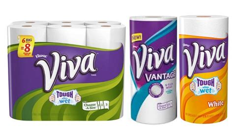 viva paper towels coupon save living rich  coupons