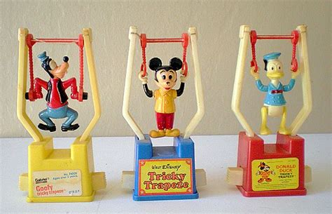 (3) Different Vintage Disney Character Trapeze Toys from californiagirls on Ruby Lane