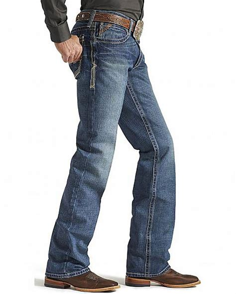 mens low rise boot cut ariat s m4 low rise gulch boot cut jean coastal