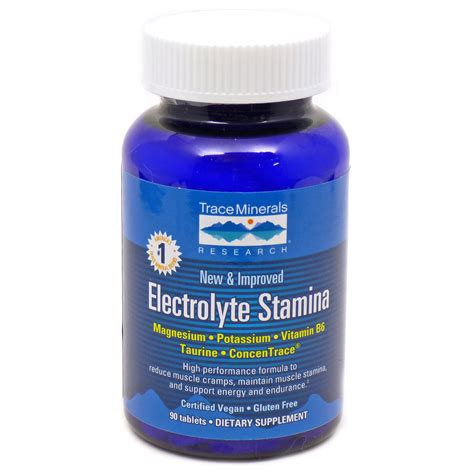 Goat Stamina Seksual 30 Tablet Promo electrolyte stamina tabs by trace minerals research 90 tablets