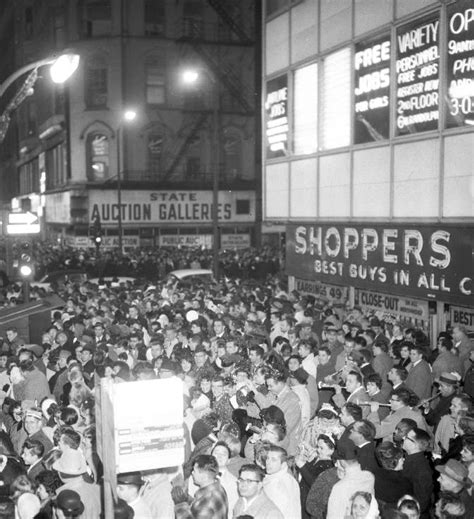 1961 new year photo chicago state and randolph new year s