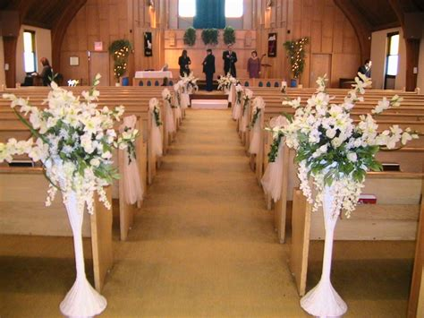 getting it right with church wedding decorations wedding