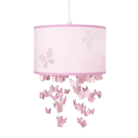 Pink Ceiling Light Shade Butterfly Pink Mobile Ceiling Shade At