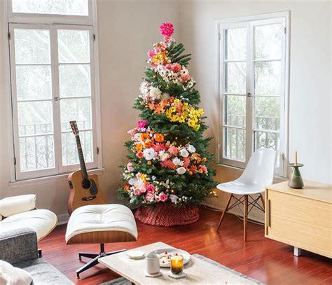 como decorar un apartamento pequeno en navidad la 250 ltima moda es decorar el 225 rbol de navidad con flores y
