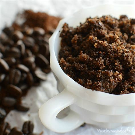 Homemade Coffee Body Scrub   WonkyWonderful