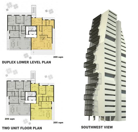 Gallery Of Beirut Observatory Accent Design Group 3 Building Design Plan And Elevation