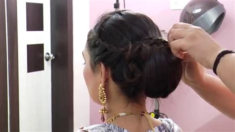 Bridal Bun Hairstyles Dailymotion by Indian Bridal Bun Hairstyles Fade Haircut