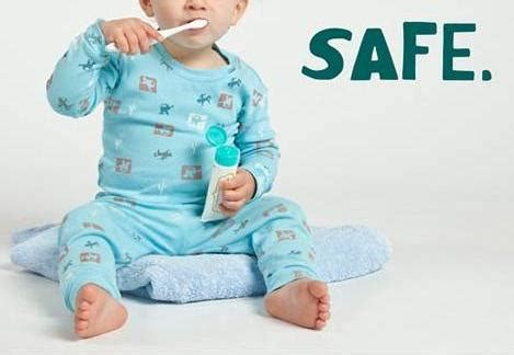 Pasta Gigi Anak Bayi Children Baby Toothpaste n pasta gigi dengan calendula asibayi