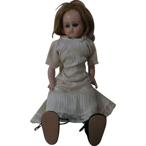 Paper Mache Doll - antique wax paper mache doll from atticangel on ruby