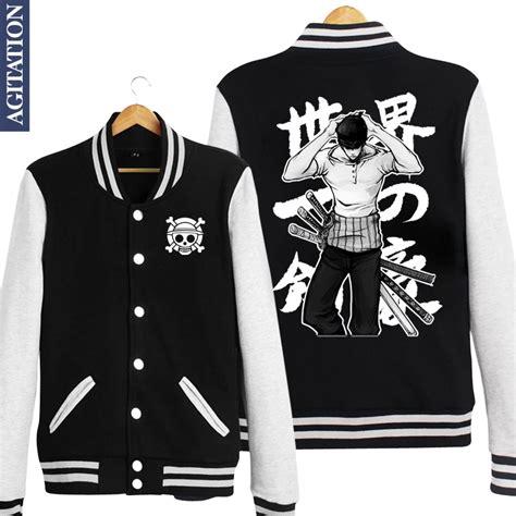Jaket One Roronoa Zoro winter warm baseball jacket boy sleeve anime one op roronoa zoro rz