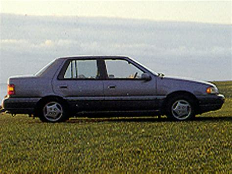 1993 hyundai excel specs safety rating mpg carsdirect