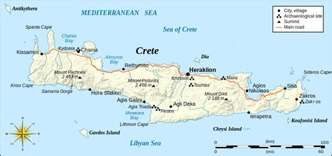 crete map things to do in crete top 5 experiences in crete