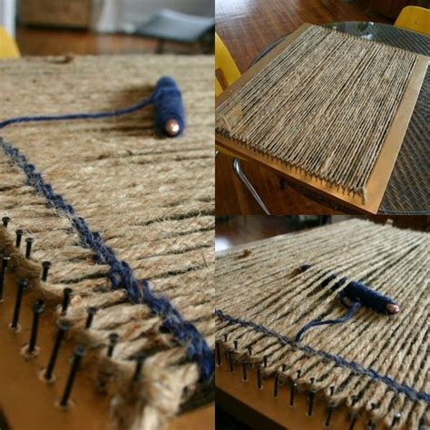 How To Make A Frame Loom For Rag Rugs by 25 Best Ideas About Rug Loom On Rug
