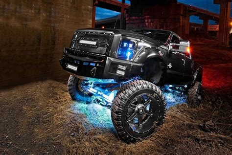 underglow lights for trucks led underbody lights tubes rock lights wireless
