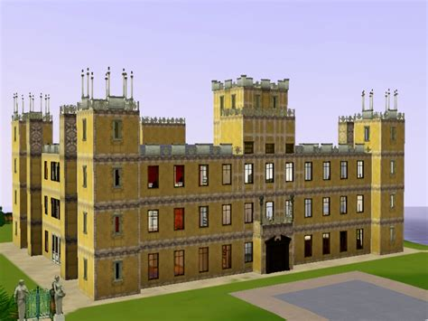 downton abbey castle floor plan simiansims downton abbey highclere castle