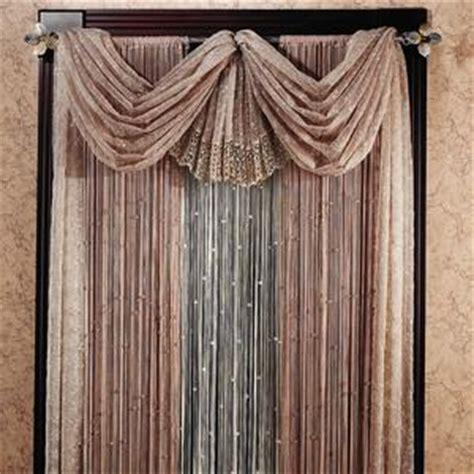 beaded window treatments elegante beaded window treatment betterimprovement