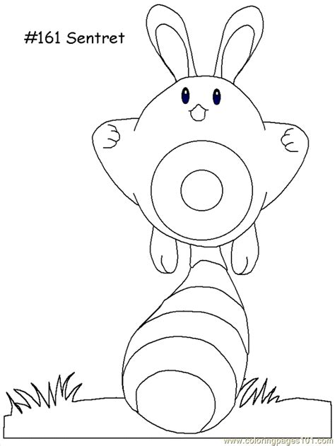 coloring pages of pokemon online sentret coloring page free pokemon coloring pages