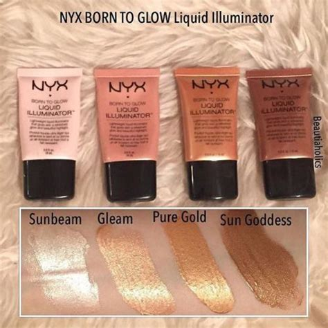 Nyx Illuminator glow on beautiaholics shares our liquid