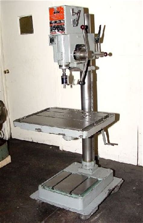 20 Swing 1 2hp Spindle Wilton 20606 Drill Press Geared