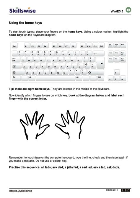 printable practice typing sheets printables typing worksheets kigose thousands of