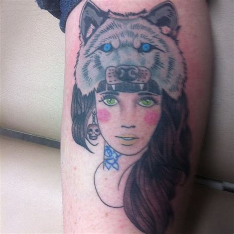 wolf tattoo for girl wolf for