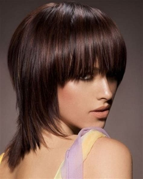 med to short hair styles choppy medium hairstyles for straight hair popular haircuts