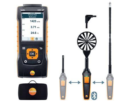 testo via testo 605i thermo hygrometer smart probe portable
