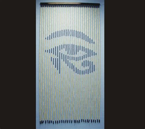 Bead Curtain Door by Bamboo Beaded Curtain Skull Design Curtain Design