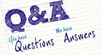 september question and answer section consulting