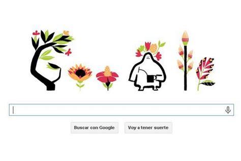 logo anim doodle equinoccio de primavera nuevo doodle de