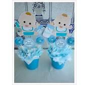 Centro De Mesa Para Baby Shower Con Dibujo Bebejpg