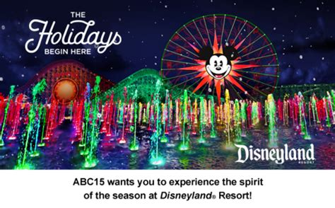 Disneyland Giveaway 2017 - abc15 disneyland resort tickets sweepstakes 2017 win disneyland tickets
