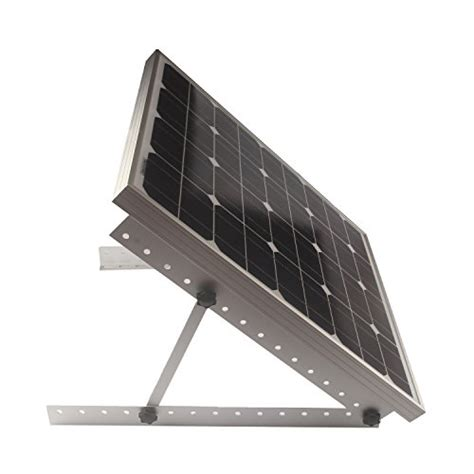 Solar Mounting Rack by Adjustable Solar Panel Mount Mounting Rack Bracket Set