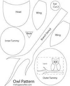 owl templates for sewing 25 best ideas about owl sewing patterns on