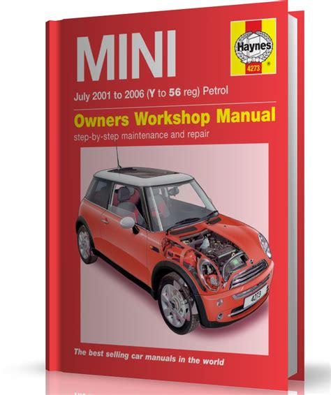 auto manual repair 2002 mini cooper parking system mini one cooper s 2001 2006 instrukcja napraw haynes motohelp