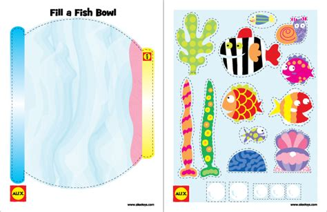 printable 3 fish crafts alexbrands